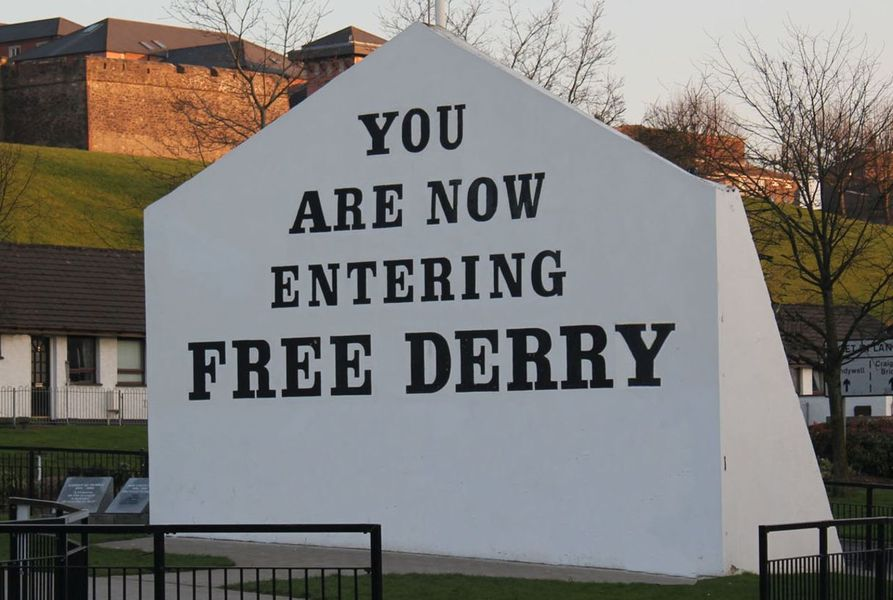 Out About In Derry Londonderry Station Bb